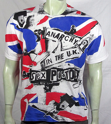 Anarchy in the UK t-shirt